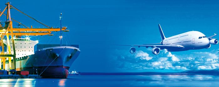Via mare e via aerea